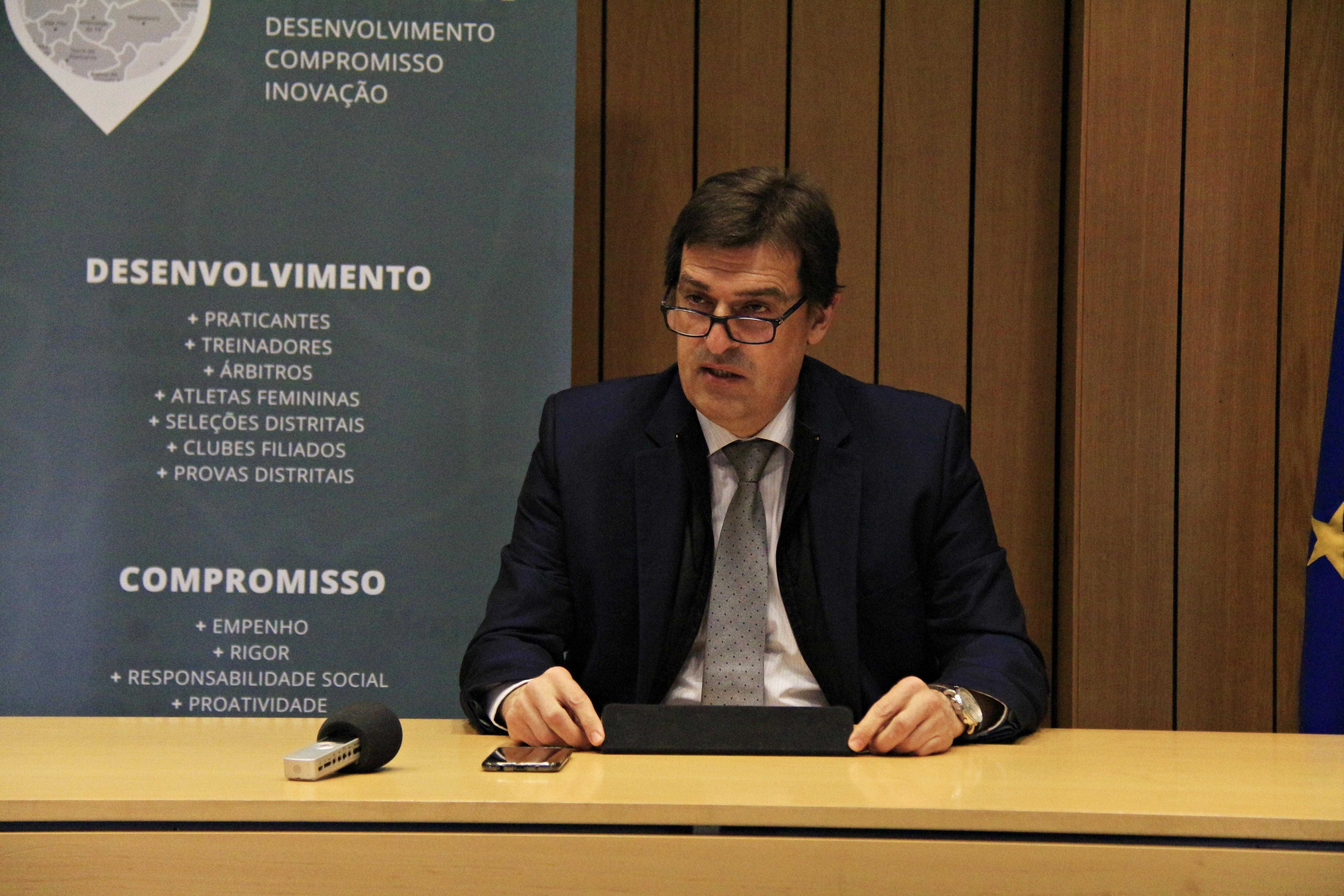 António Ramos recandidata-se à presidência da AFB e tem em mente vários projetos