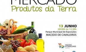 Este domingo há Mercado dos Produtos da Terra em Macedo de Cavaleiros