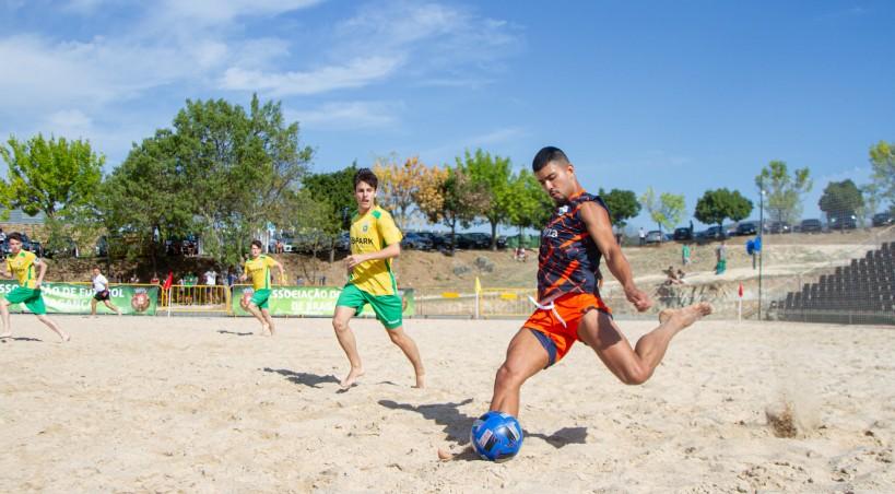 Azibo recebe este fim de semana a primeira fase do Campeonato Nacional de Futebol de Praia Masculino