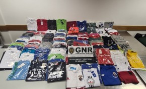 Mais de 200 peças de vestuário contrafeito apreendido no concelho de Vila Flor