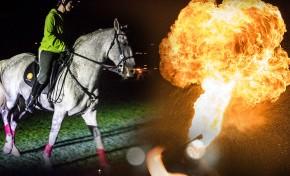 """Passeio Mágico """"Lands of Knights"""": cavaleiros, caminhantes e fogo numa noite que promete"""