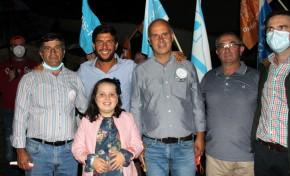 Líder do CDS-PP esteve ontem em pré-campanha na aldeia do Brinço (Macedo de Cavaleiros)