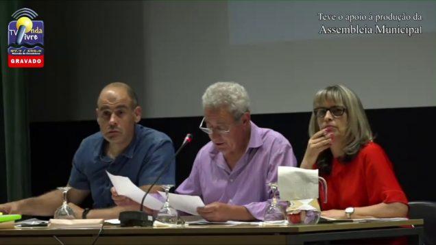 ONDA LIVRE TV – Assembleia Municipal   26-06-2018